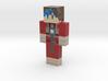 Skwirel_LeBleu | Minecraft toy 3d printed