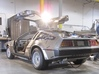 1:8 BTTF DeLorean Exhaust pipes 3d printed Exhaust pipe on the DeLorean A-car