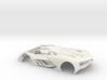 1:24 LTM Body (for Slot Car Model) 3d printed