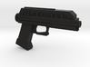 1/6th scale DC-17 blaster pistol 3d printed