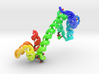 Calmodulin Complexed with Ca+2 3d printed