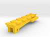 Top Tactical Rail for Nerf Zombie Strike NailBiter 3d printed