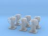 1/128 DKM Flak ZAG Set x6 3d printed