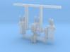 Pole Transformer 02. 1:72 Scale  3d printed