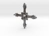 Cross Bone Pendant 3d printed