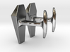 James Bond Coffin Cufflinks 3d printed