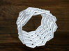 Turk's Head Knot Ring 9 Part X 9 Bight - Size 8.75 3d printed