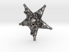 Inverted Pentagram Bone Pendant 3d printed