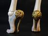 Baroque nude heels 3d printed