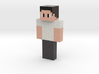Skin_Output1557671876798 | Minecraft toy 3d printed