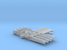 "1/48 Royal Navy 21"" Quad Torpedo Tubes x1 3d printed 1/48 Royal Navy 21"" Quad Torpedo Tubes x1"