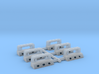 1/192 USN Massachusetts Roller Chocks Set 3d printed