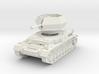 Flakpanzer IV J Ostwind 1/56 3d printed