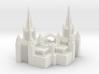 San Diego Temple Christmas Ornament 3d printed