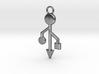 Pendant - USB Trident ~ mk-1 3d printed