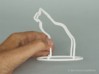 Cat/Dog Flip (h=13cm) 3d printed