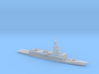 1/1250 Scale Spanish Navy F-110-class frigate 3d printed