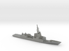 1/1800 Scale HMAS Hobart D-39 Class Destroyer 3d printed