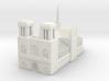 Notre Dame de Paris 1/1000 3d printed