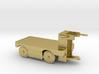 E-Karren Flachwagen Messing - 1:120 TT 3d printed