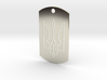 Dog Tag - Coat of Arms of Ukraine - Dots - #P4 3d printed