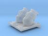 1/36 Mortier de 12£ -1765- X2 3d printed