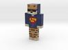 VxpeGodisBack | Minecraft toy 3d printed