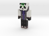 PandaBoyNation | Minecraft toy 3d printed
