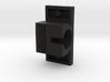 Horizontal Motor Block 3d printed