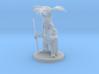 Dwarf Druid with Fern Headdress 3d printed