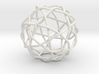 Knotty fullerene 3d printed