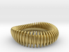 WAVE TWIST wide ring size 8 3d printed
