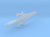 1:6 Miniature He-Man Sword  3d printed