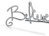 :Believe: Pendant 3d printed