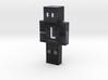 dlog1702 | Minecraft toy 3d printed
