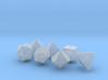 Elizabeths_Dice_Set_rounded_edges 3d printed