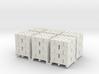 Pallet Of Cinder Blocks 5 High 6 Pack 1-87 HO Scal 3d printed