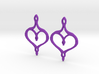 :Perfect Valentine: Earrings 3d printed