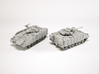 FV510 Warrior IFV Scale: 1:144 3d printed