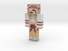 Snap_Chat_Dog | Minecraft toy 3d printed
