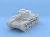 1/160 IJA Type 3 Chi-Nu Medium Tank 3d printed