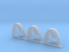 Griffons Gravus Shoulder Pads x3 L #2 3d printed