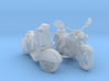 HO Scale Motorcycle & Scooter 3d printed This is a render not a picture