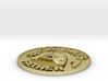 Galaxy's #1 Father Memorial Coin Father's Day Gift 3d printed