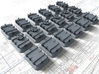 1/35 Royal Navy Deck Hatch Set w. Blast Plates x18 3d printed 1/35 Royal Navy Deck Hatch Set with Blast Plates x18