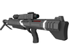 Mass Effect - 1:12 scale - M98 (Black) Widow 3d printed
