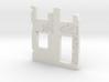 Building wall ruins 1/56 3d printed