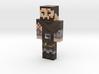 AgnarBergur | Minecraft toy 3d printed