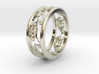 Chameleon path ring 3d printed