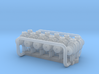 Single Pulley block 1/48 3d printed